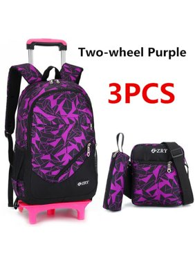 Product Image Meigar 3PCS Kids Boy Students Trolley Backpack School Bag  Satchel With Wheels Removable adcb7df895dd4