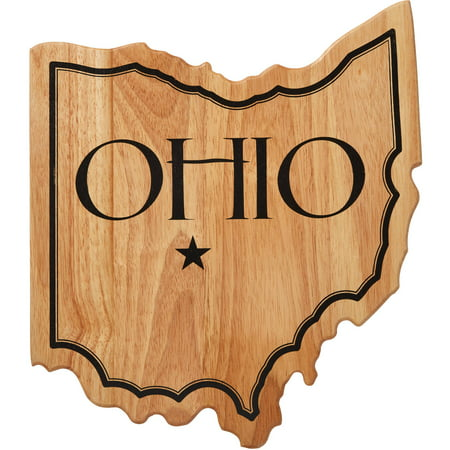 Farberware Rubber Wood Ohio State Shaped Cutting - Ohio State Runner