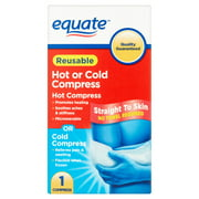 Equate Reusable Hot or Cold Compress, 1 Ct