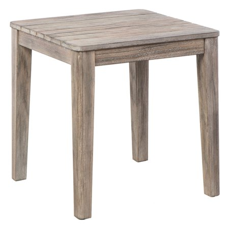 Cornwall Wood Patio End Table (Alfresco Table)
