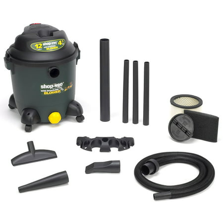 Shop Vac 963-12-00 12 Gallon 4.5 HP Ultra Series Wet & Dry Blower (Kubota Wet Dry Vac 12 Gallon Review)