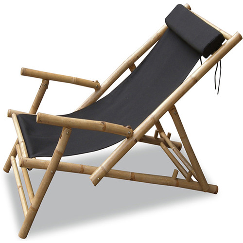 Heather Ann Creations Kahuli Bamboo Sling Folding Beach Chair - Set of 2