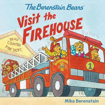Large Black Outdoor Firehouse - The Berenstain Bears Visit the Firehouse