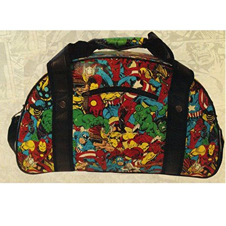 c744f47dd961 Comics Retro Polyester Gym Bag with Zippered Compartment and Adjustable  Straps - Walmart.com