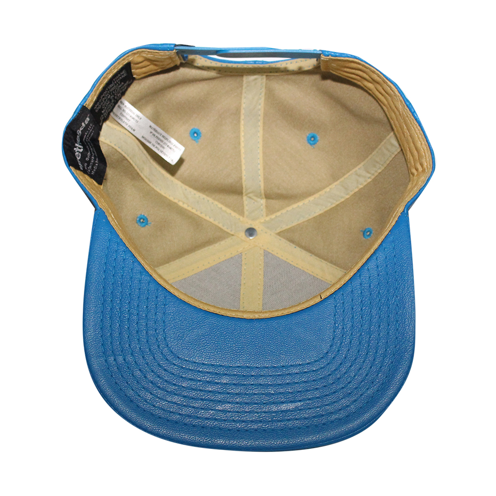 """Bioworld Blue Licensed Fallout """"111"""" PU Leather Snapback Hat - image 5 of 6"""