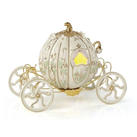 Lenox Disney Cinderella's Enchanted Coach Carriage Porcelain Figurine 868804 (Lladro Re Deco Porcelain Figurine)