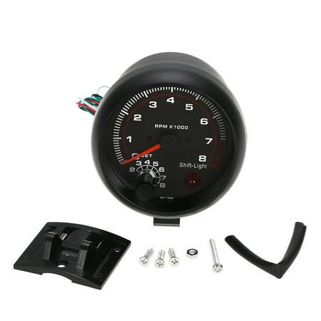 Shift Light Tachometer - 0~8000RPM 3.75