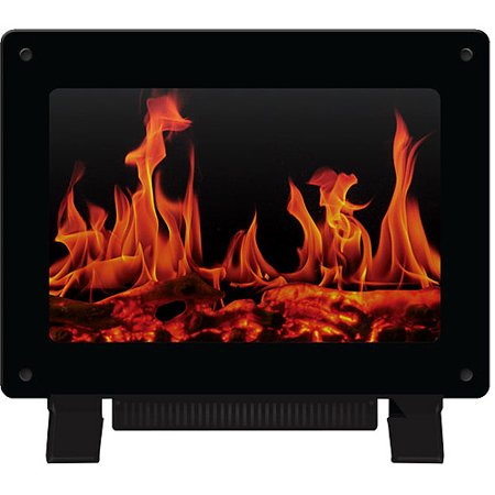 Warm House Dallas Freestanding Electric Fireplace Black DSF-10302