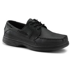 Dockers Pier Mens Black Boat Shoes