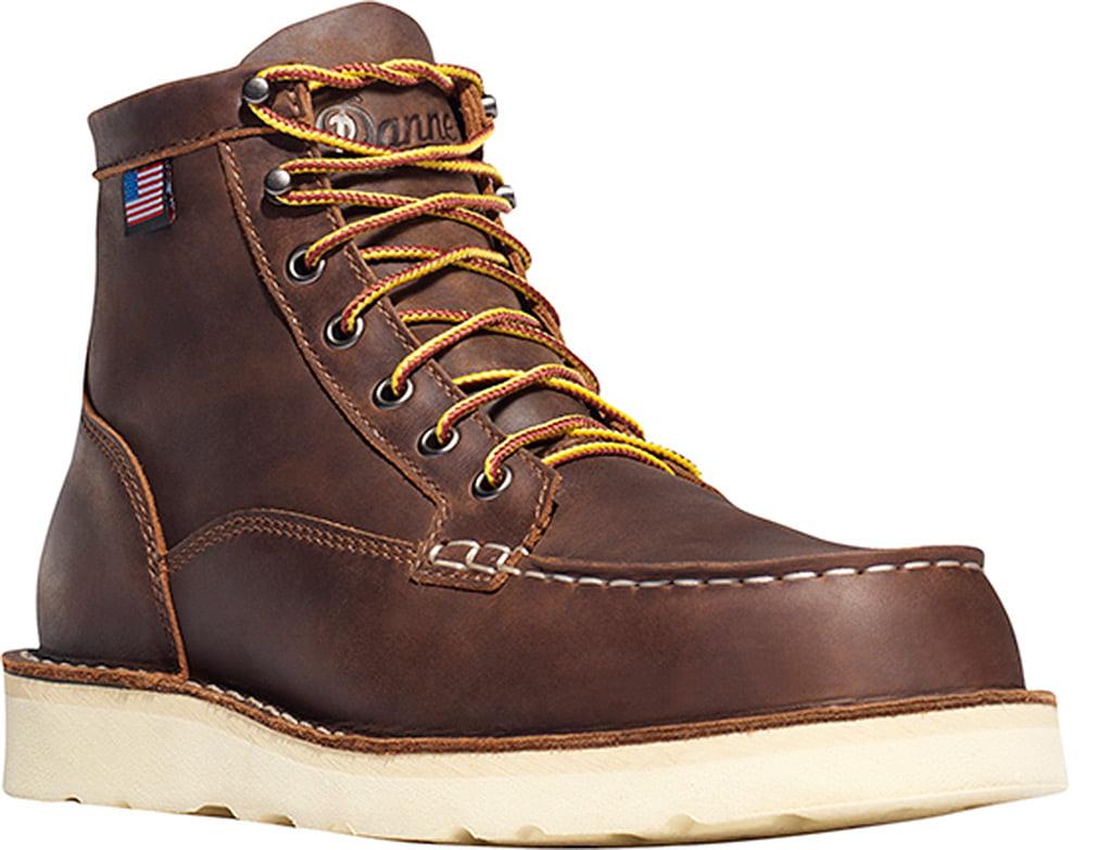 Danner Men Bull Run Moc Toe 6' Steel Toe Boots 8 EE US by Lacrosse Footwear Inc.