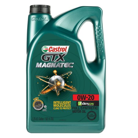 Castrol Gtx Magnatec 0w 20 Full Synthetic Motor Oil 5 Qt
