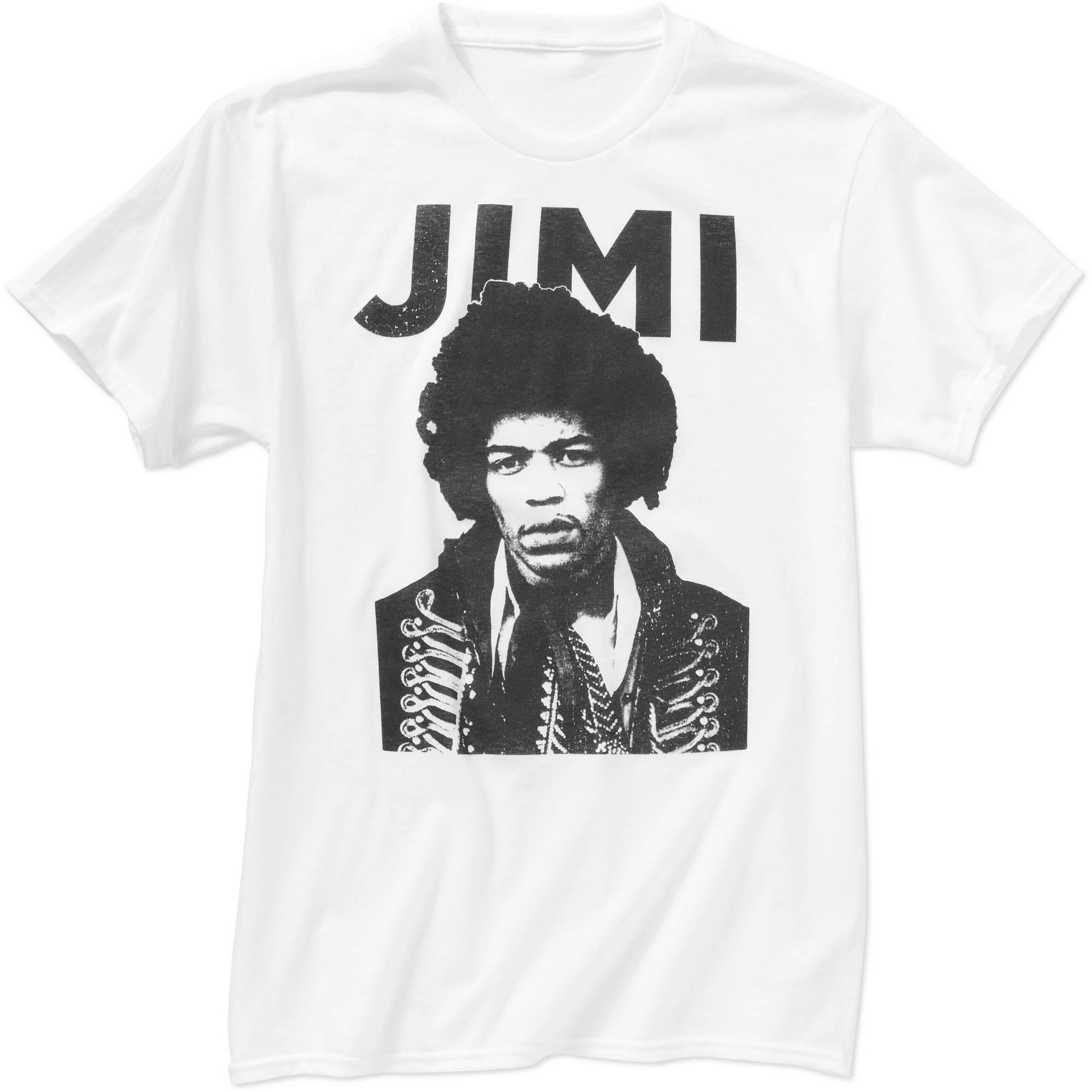 Jimi Hendrix Men's Graphic Tee