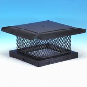 """HomeSaver 14707 13"""" x 13"""" Galvanized Steel Chimney Cap with 5/8"""" Mesh from the P"""