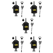 LOT OF 5 Gear Keeper RT3-4112 Heavy Duty Retractable CB Radio Microphone Hanger