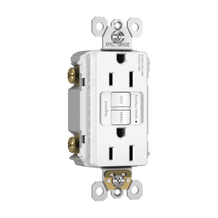 Legrand 1597TR Radiant GFCI Wall Outlet