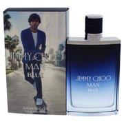 ($92 Value) Jimmy Choo Man Blue Eau De Toilette Spray, Cologne for Men, 3.3 Oz