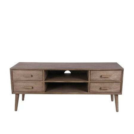 privilege mid century tv stand. Black Bedroom Furniture Sets. Home Design Ideas