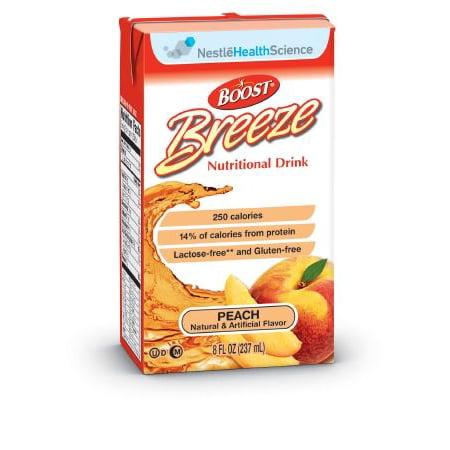 Rainbow Light Nutritional Supplements (Nestle Healthcare Nutrition Resource Breeze Nutritional Supplement  Peach Liquid 8 oz Brik PK/8 )