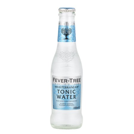 (24 Bottles) Fever-Tree Mediterranean Tonic Water, 6.8 Fl - Prep Tonic