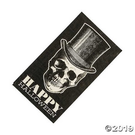 Vintage Halloween Dinner Napkins](Traditional Halloween Dinner)