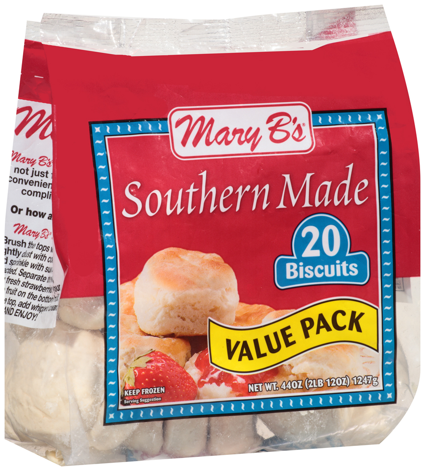 Mary B's® Southern Made Biscuits 20 ct Bag