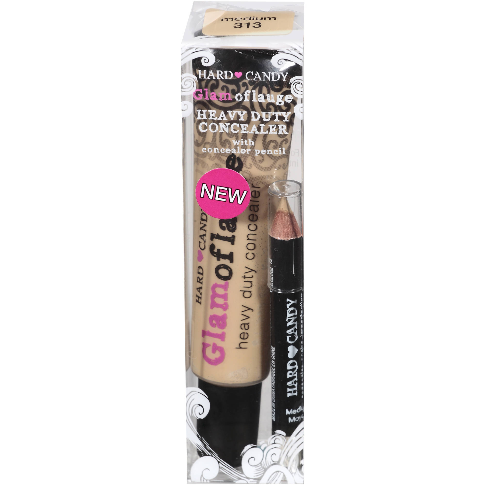 Hard Candy Glamoflauge Concealer, 0313 Medium, 0.71 oz