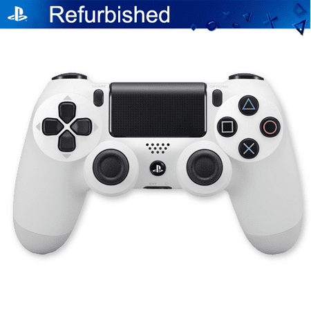 Dualshock 4 Controller PS4, White Sony Playstation 4 (Refurbished) ()