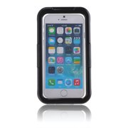VicTsing High-grade Waterproof(The Grade of Waterproofing: IP67) Shockproof Dirt Snow Proof Durable Case/Cover for iPhone6 Plus Black