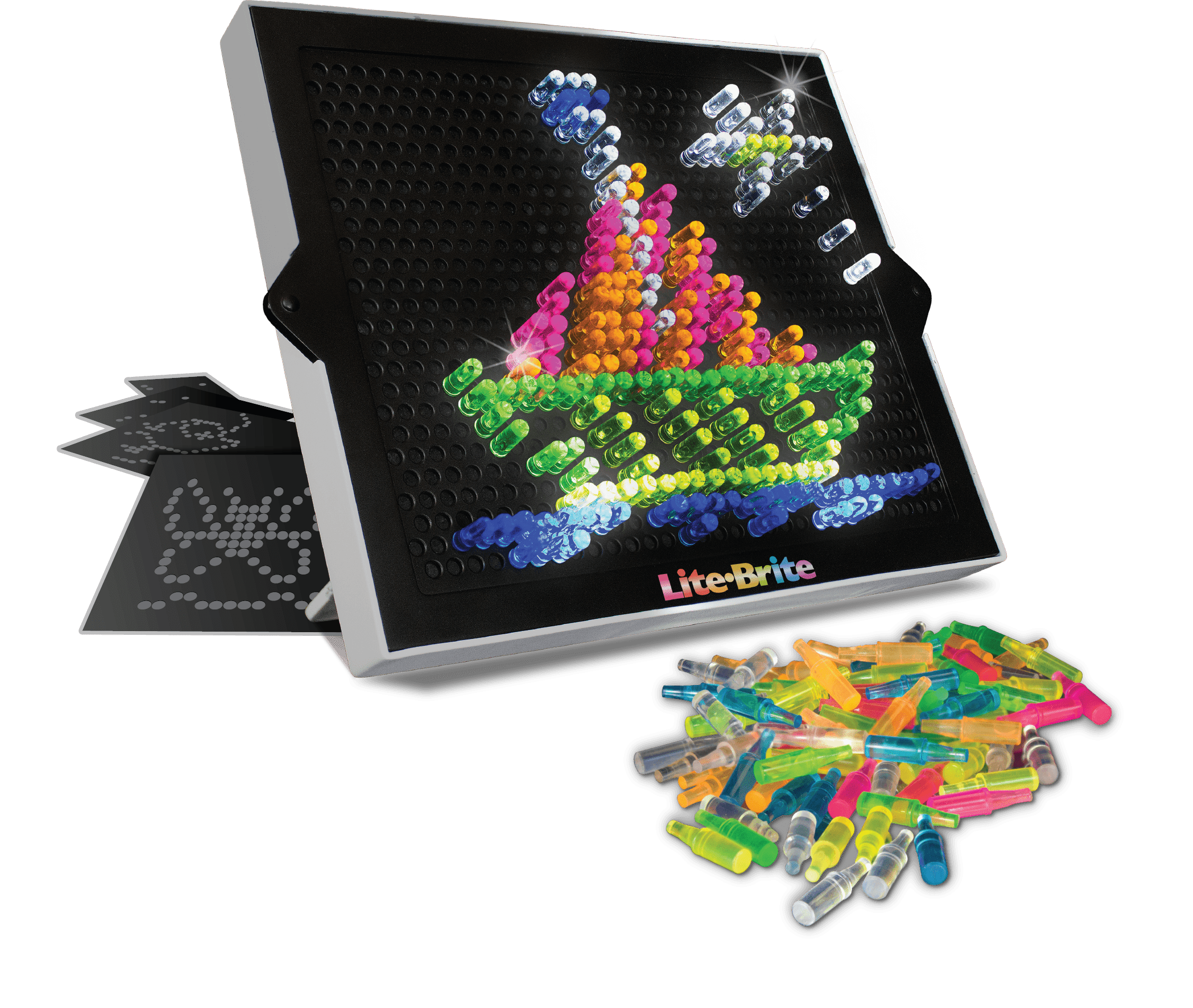 Lite Brite Ultimate Classic With 6 Templates And 200 Colored Pegs Walmart Com Walmart Com