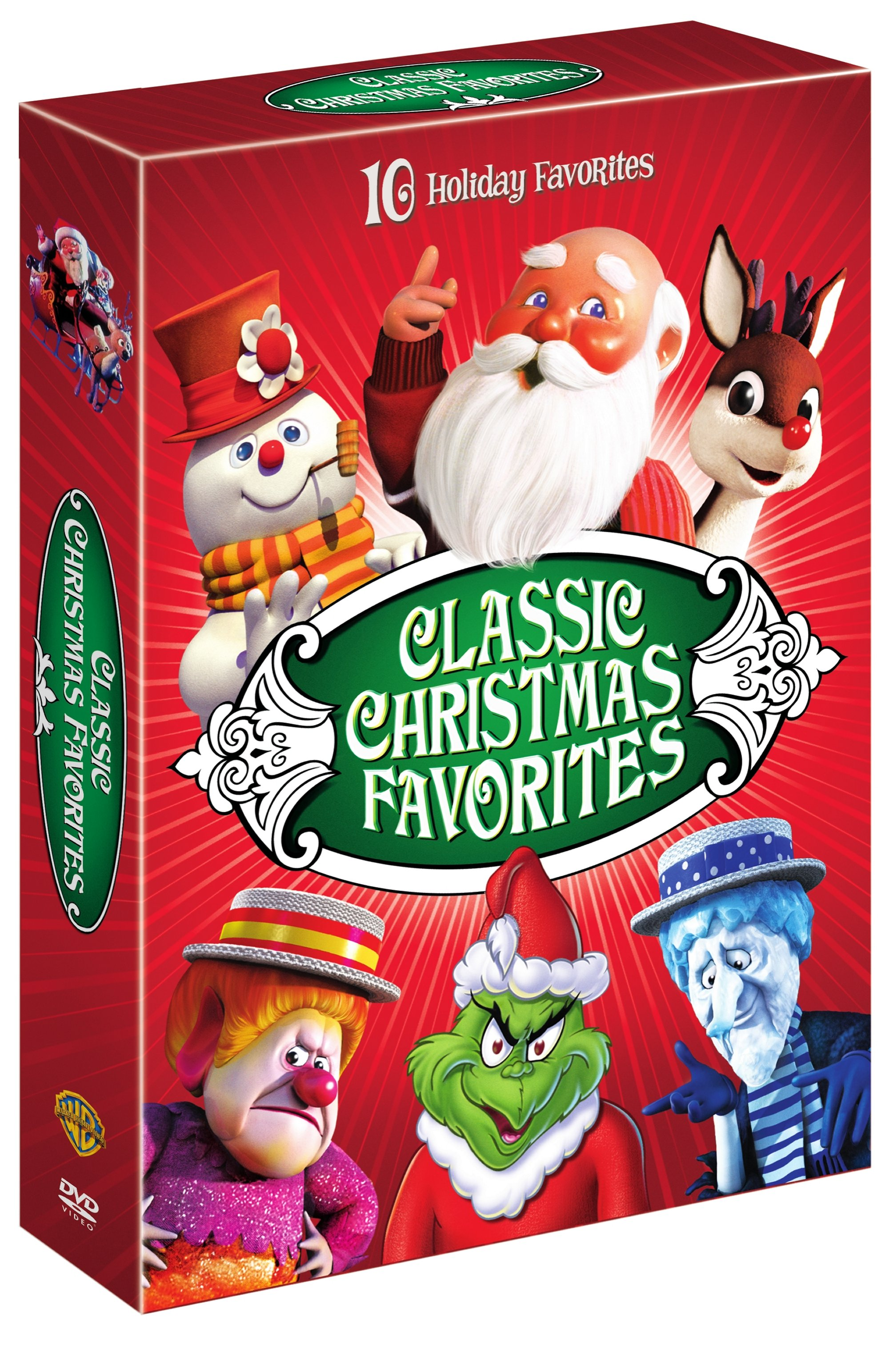 Rudolph And Frostys Christmas In July Dvd.Classic Christmas Favorites Dvd Walmart Com