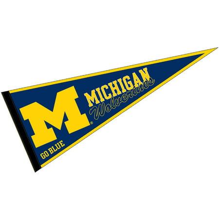 30 Felt Pennants - Michigan Wolverines Blue 12
