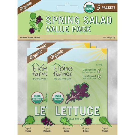 Image of Organic Spring Salad Value Pack (5 Packets)
