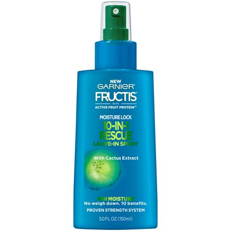 Garnier Fructis Moisture Lock 10-in-1 Rescue Leave-In Detangler 5oz Each ()