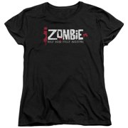 IZombie Logo Womens Short Sleeve Shirt