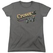 Tootsie Roll Crows Womens Short Sleeve Shirt