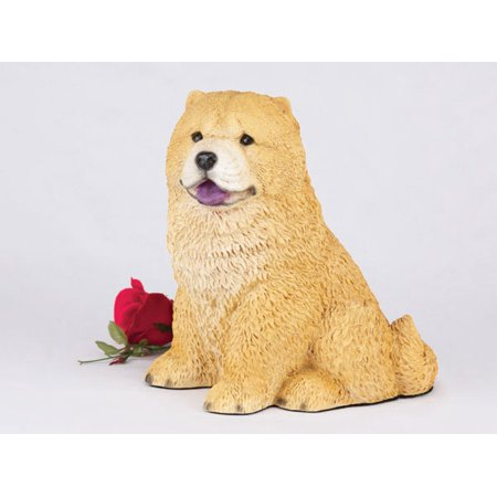 Chow Red Cremation Pet Urn for a Dog Memorial in remembrance of your beloved family pet Beloved Pet Memorial Stone