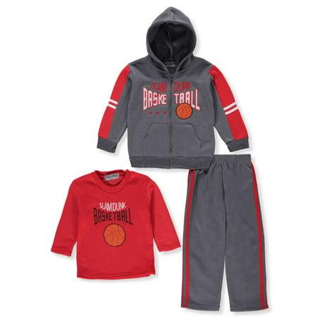 Victory League Boys' 3-Piece Sweatsuit Pants Set ()