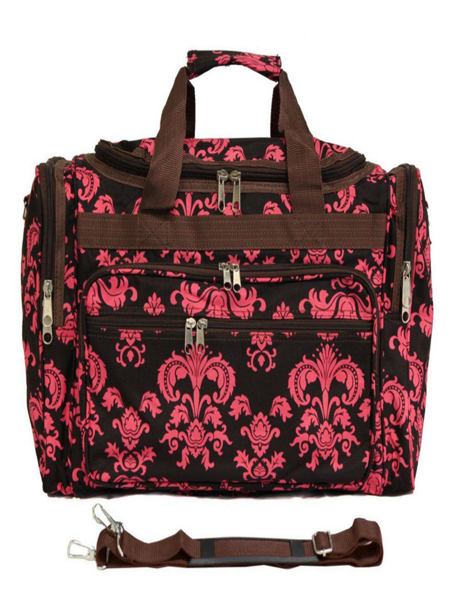 World Traveler Damask ll 22 in. Travel Duffel Bag by World Traveler