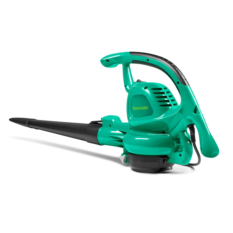 Weed Eater Electric Corded 12.5 Amp 360 CFM / 200 MPH Handheld Leaf Blower/Vacuum, WE12B