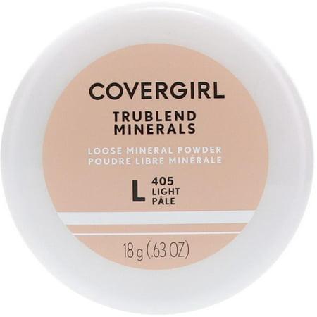 Cover Girl Trublend Loose Powder (CoverGirl Trublend Minerals Loose Powder, Light [405] 0.63 oz )