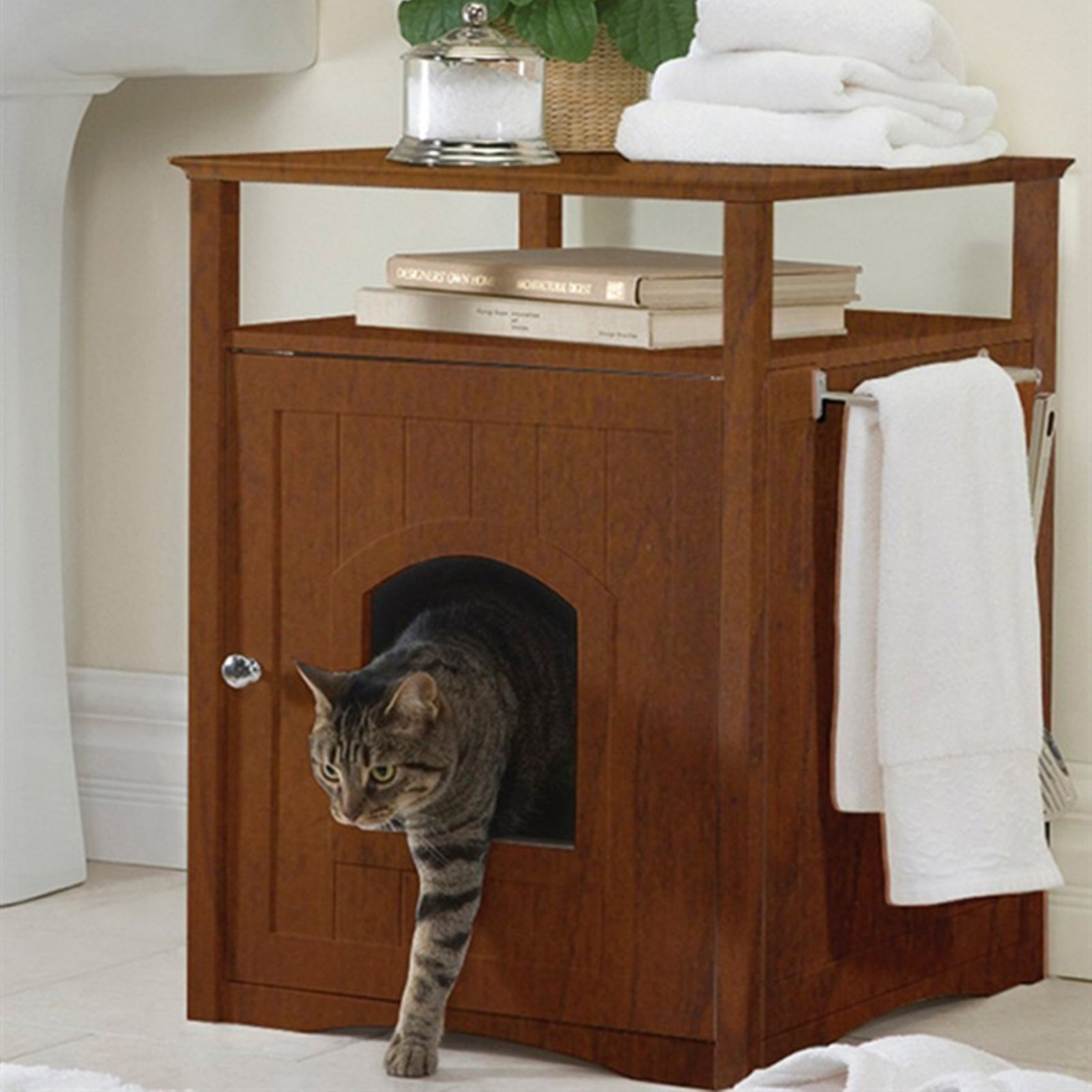 Https Www Etsy Com Listing  Cat Litter Box Cover Pet Furniture Cat