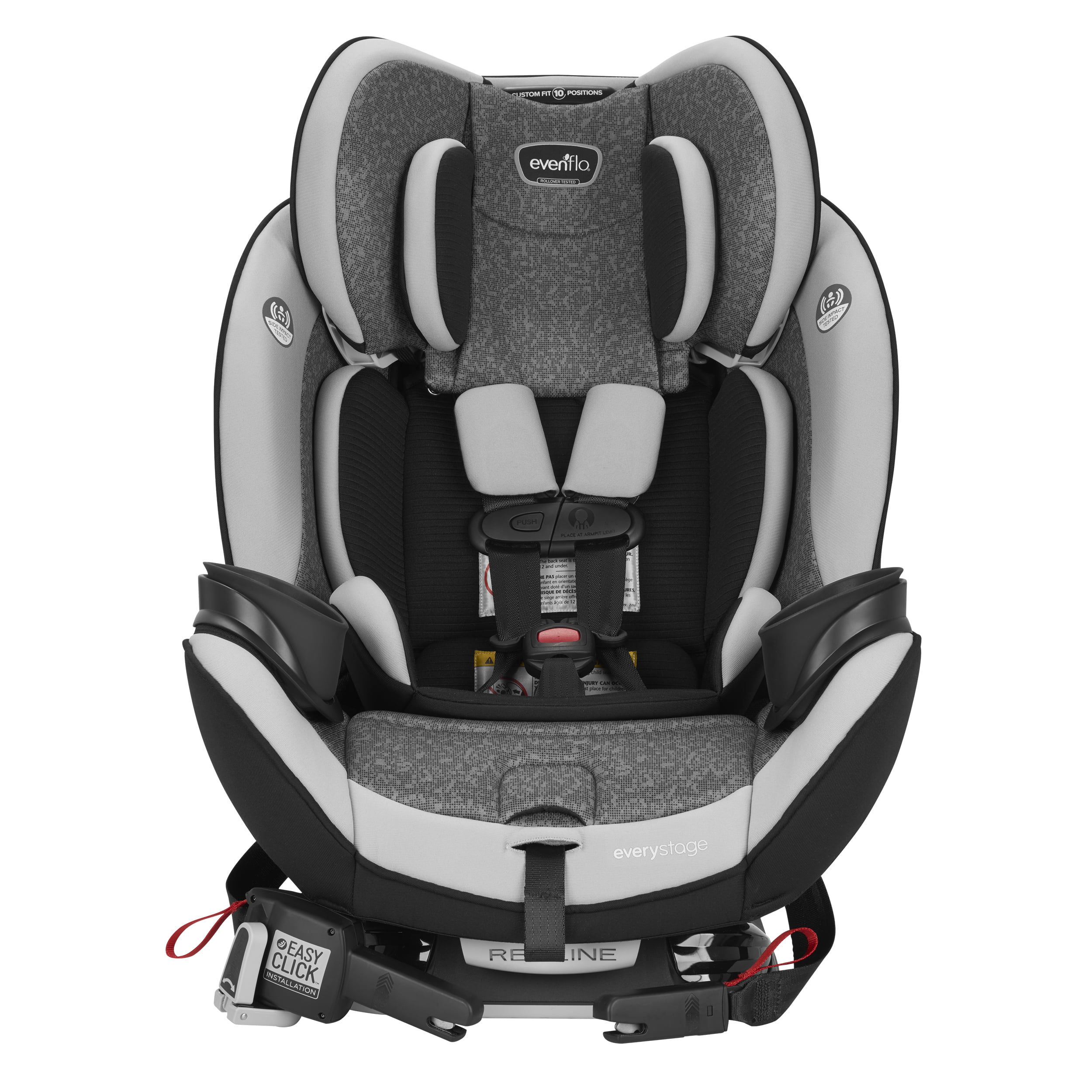 Evenflo EveryStage DLX All-In-One Car Seat, Lattitude