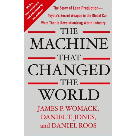 The Machine That Changed the World : The Story of Lean Production-- Toyota's Secret Weapon in the Global Car Wars That Is Now Revolutionizing World (Best Weapons For Civil Unrest)
