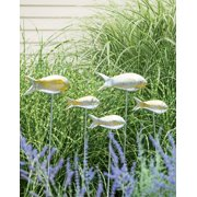 Fish Out of Water Garden Stakes, Set of 5
