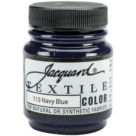 Jacquard Textile Color Fabric Paint 2.25oz-Navy Blue](Outdoor Fabric Paint)