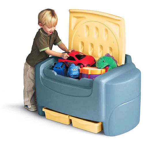 Little Tikes - Sort 'N Store Toy Chest, Blue