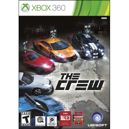 - The Crew, Ubisoft, XBOX 360, 887256000455