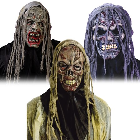 Bio Zombie Gauze Mask Only](Party City Zombie Mask)