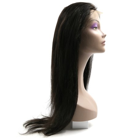 """Pre Plucked 360 Lace Frontal Closure Lace Band Closure Remy Hair Straight 8""""-20"""" - image 6 of 8"""