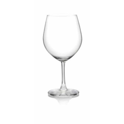 Lucaris Serve Burgundy Glass (Set of 4) by Lucaris